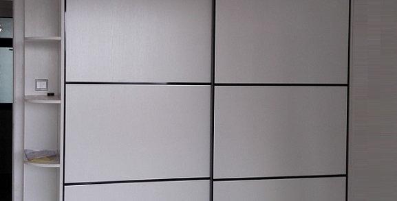 訂造置頂簡約衣櫃(每呎) TM100-1011