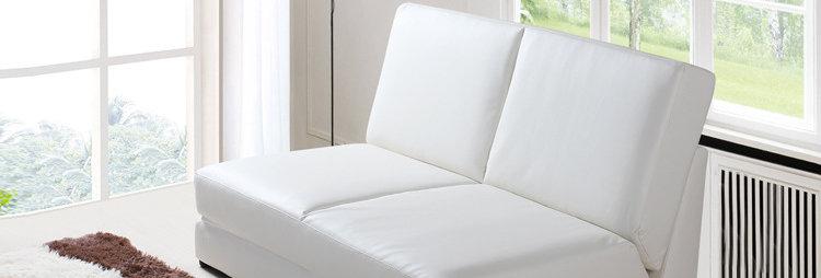 休閒仿皮雙人梳化床 B139-1032