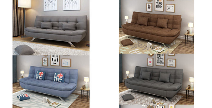 布藝梳化床B165-1092