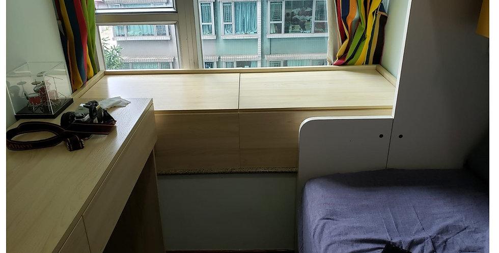 客人訂制(元朗蝶翠峄) 工作台,窗台箱,層架板 實物圖片#899