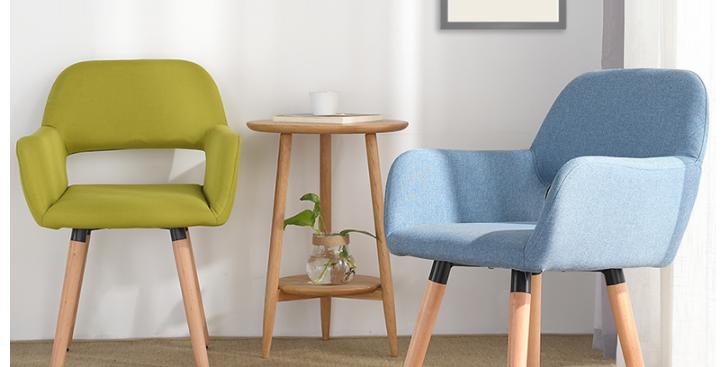 北歐休閒實木餐椅 F159-1028