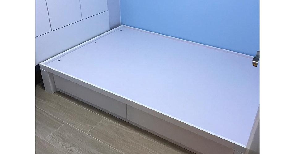 客人訂制  房間牆身翻新油漆 及 4呎油壓床 實物圖片#807