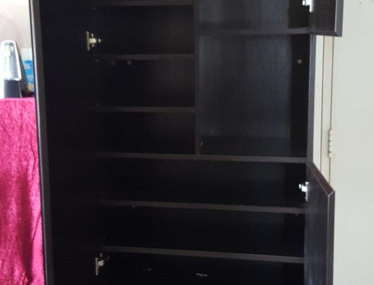 客人訂制 鏡面鞋櫃 實物圖片