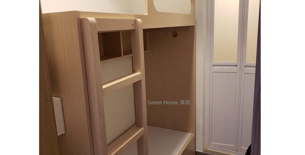 客人訂制 (九肚山) #上下床 及 #吊櫃  實物相片#1036