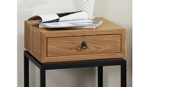 實木床頭櫃K192-1026