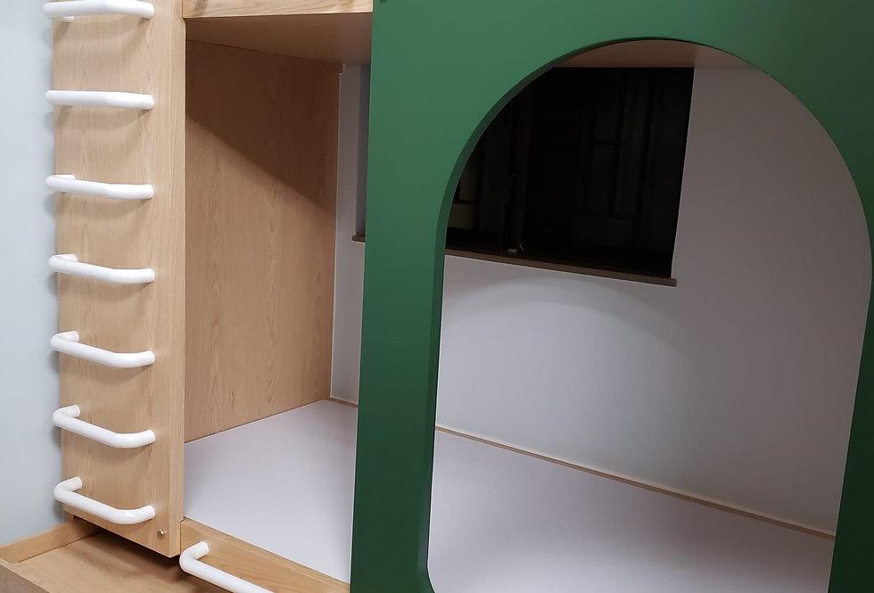 款式推介_單人上下床連拖床 #P212-1051