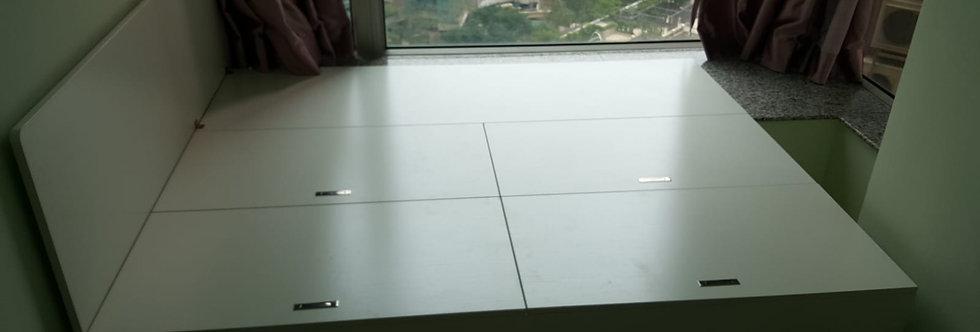 客人訂制  駁窗台床  實物圖片#503