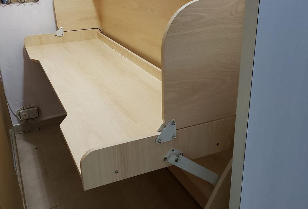 客人訂制  (大圍隆亨邨) #書桌隱形床 實物圖片#940