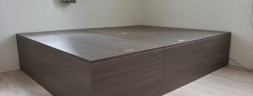 客人訂制  (荔灣花園) #雙人儲物床箱 實物圖片#960