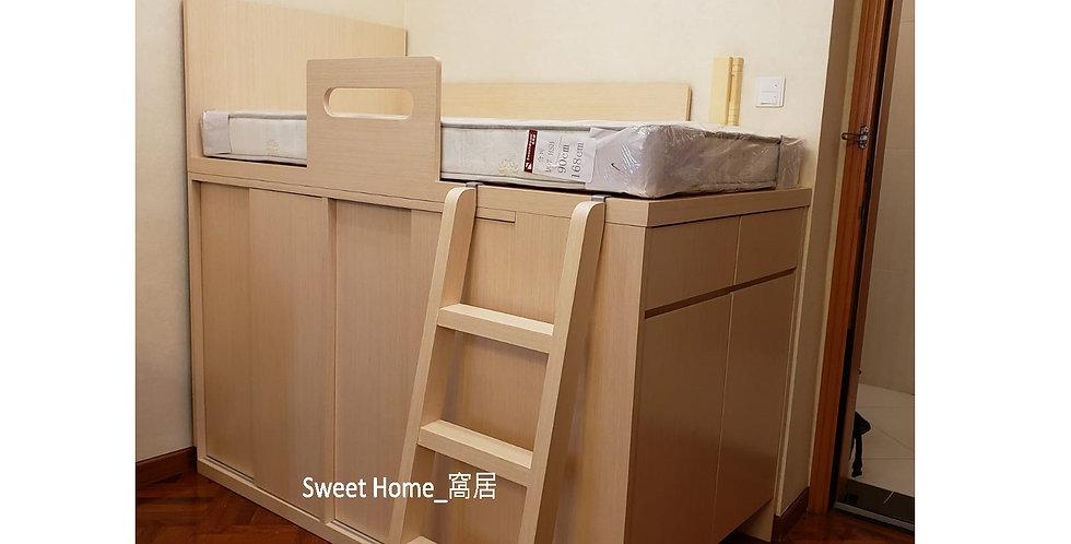 客人訂制 (將軍澳區) #多用床櫃  實物相片#998