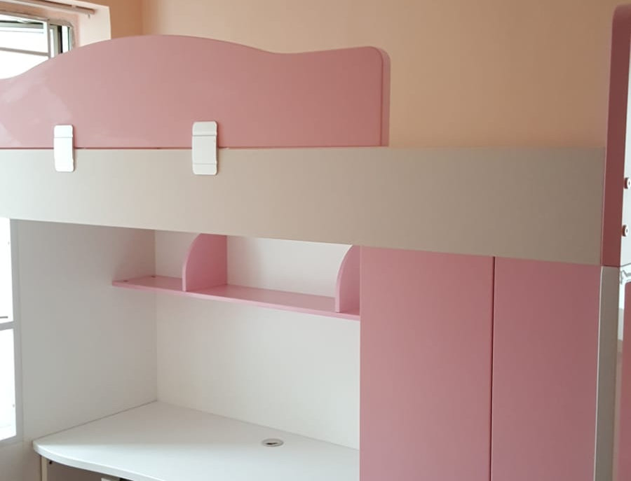 客人訂制 兒童組合床 P158-1034  實物圖片#281