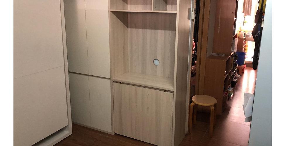 客人訂制  電視櫃連餐桌+側揭隱形床  實物圖片#507