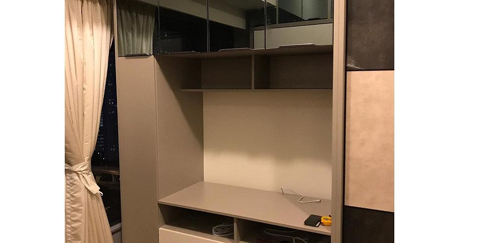 客人訂制  電視櫃及吊櫃 實物圖片#662