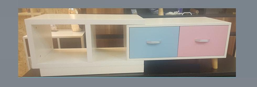 客人訂制 2款拼色電視櫃 實物圖片#548
