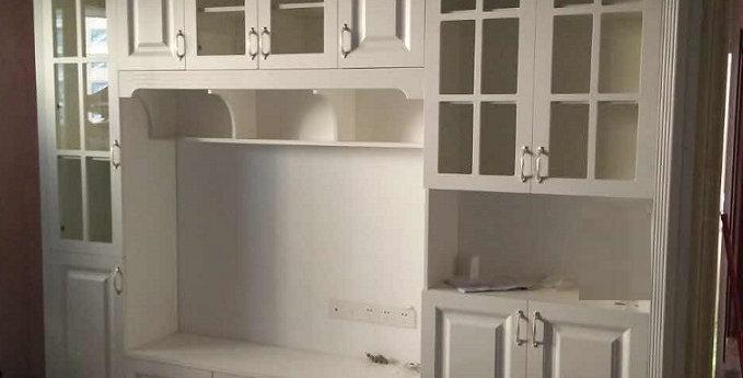 訂造韓式電視廳櫃(每呎) TM100-1014