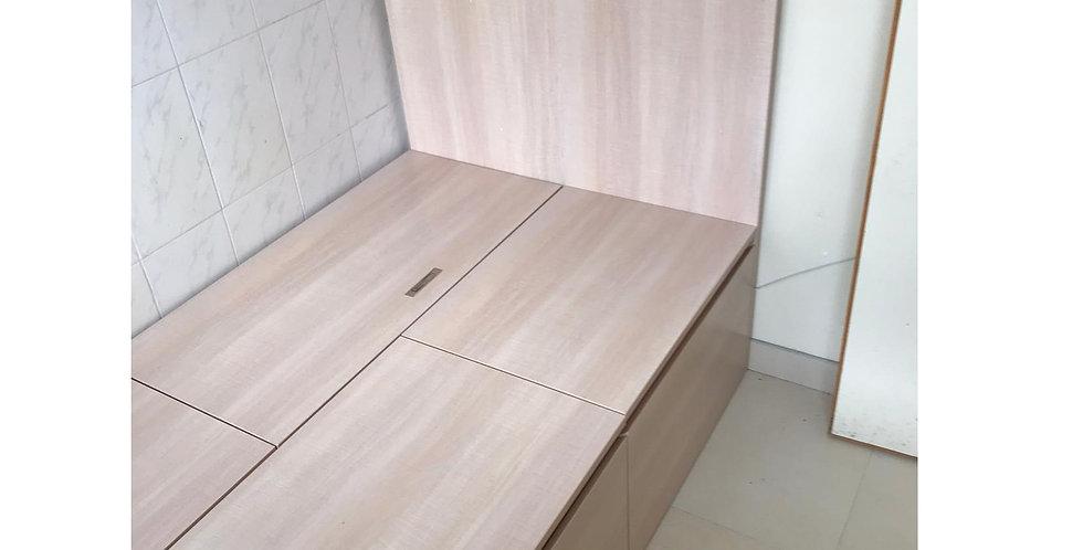客人訂制  #揭板儲物+櫃桶床箱 實物圖片#842