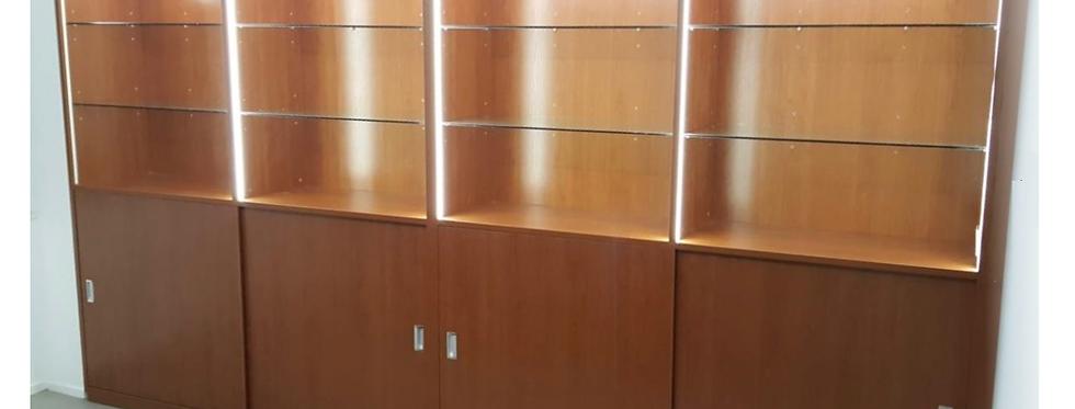店鋪訂制  展示櫃+格仔櫃+儲物櫃  實物圖片#501