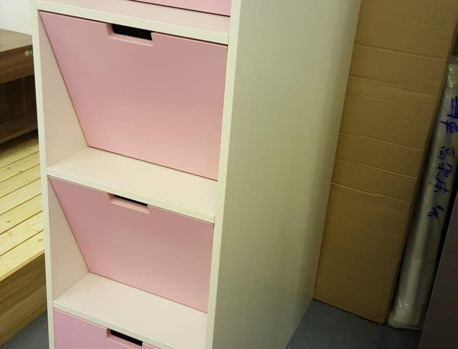 客人訂制 兒童床梯櫃衣櫃書桌組合  實物圖片#396