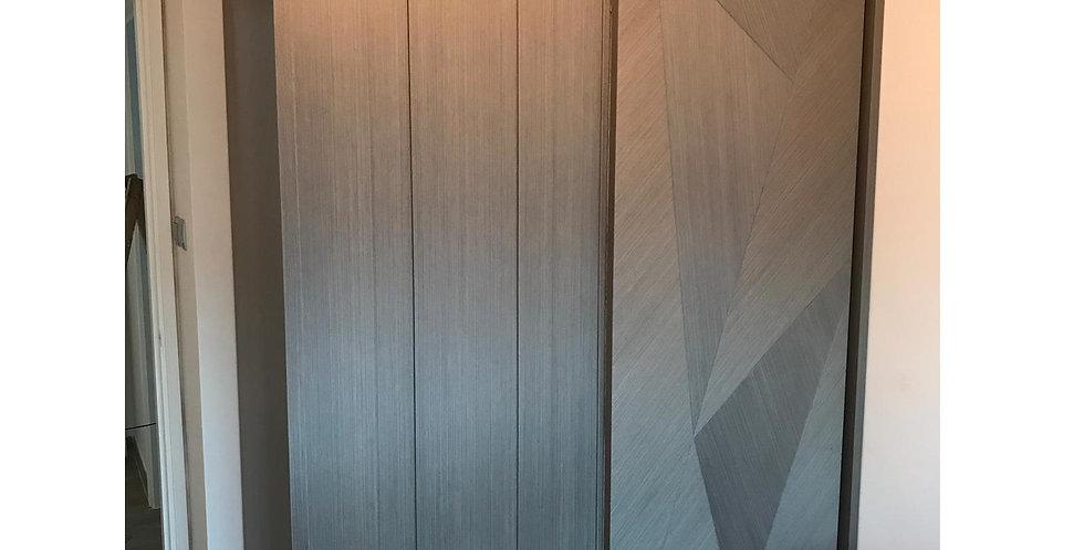 客人訂制 主人房衣櫃+窗台床+油壓床+書枱 實物圖片#751