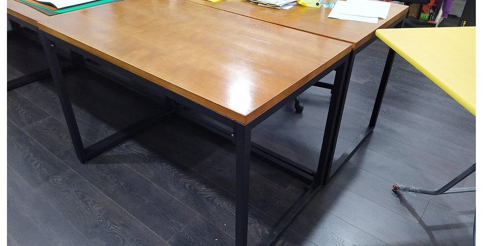 客人訂制 (旺角區) 榆木實木辦公桌 實物相片 #973