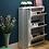 Thumbnail: 超薄型鞋櫃連單門掛物櫃 N177-1025