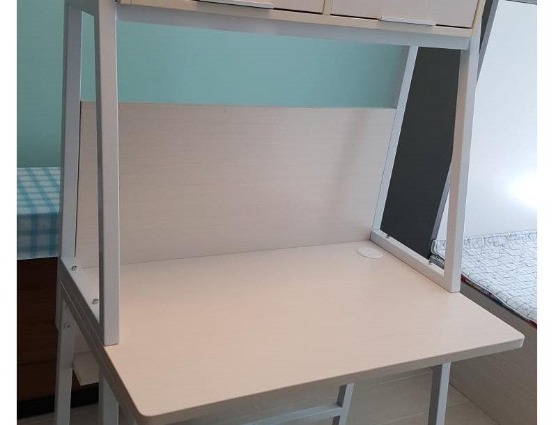 客人訂制  鐵製書桌 實物圖片#710