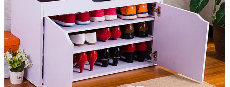 實用帶門換鞋櫈鞋櫃 N210-1026