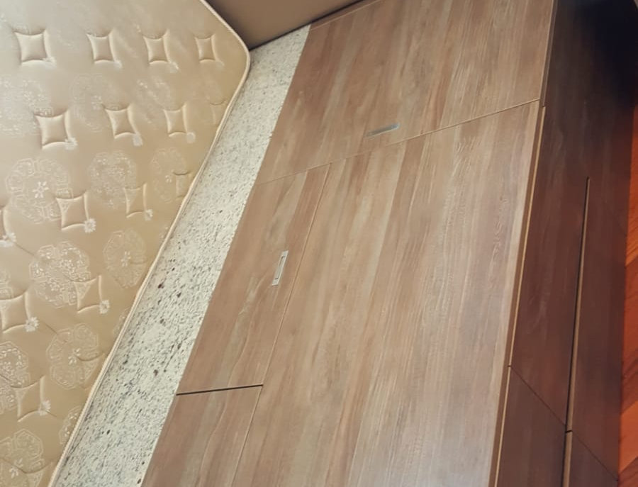 客人訂制 駁窗台床箱 實物圖片#580