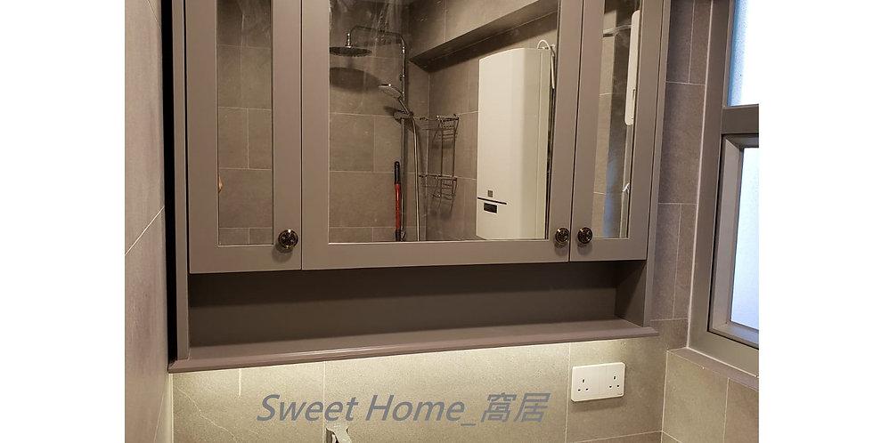 客人訂制 (新浦崗區) #翻新主廁及客廁  實物相片#1007