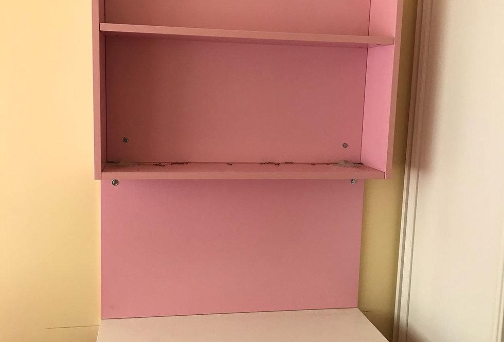 客人訂制 粉紅系列掛牆書枱  實物圖片#340