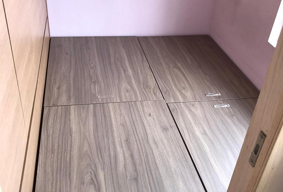 客人訂制  #儲物床箱+床墊 實物圖片#814