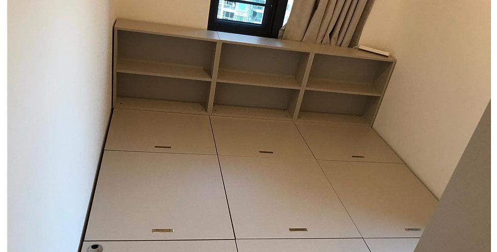 客人訂制  #榻榻米儲物床箱 實物圖片#848