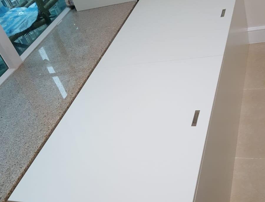 客人訂制 駁窗台揭板床  實物圖片#456