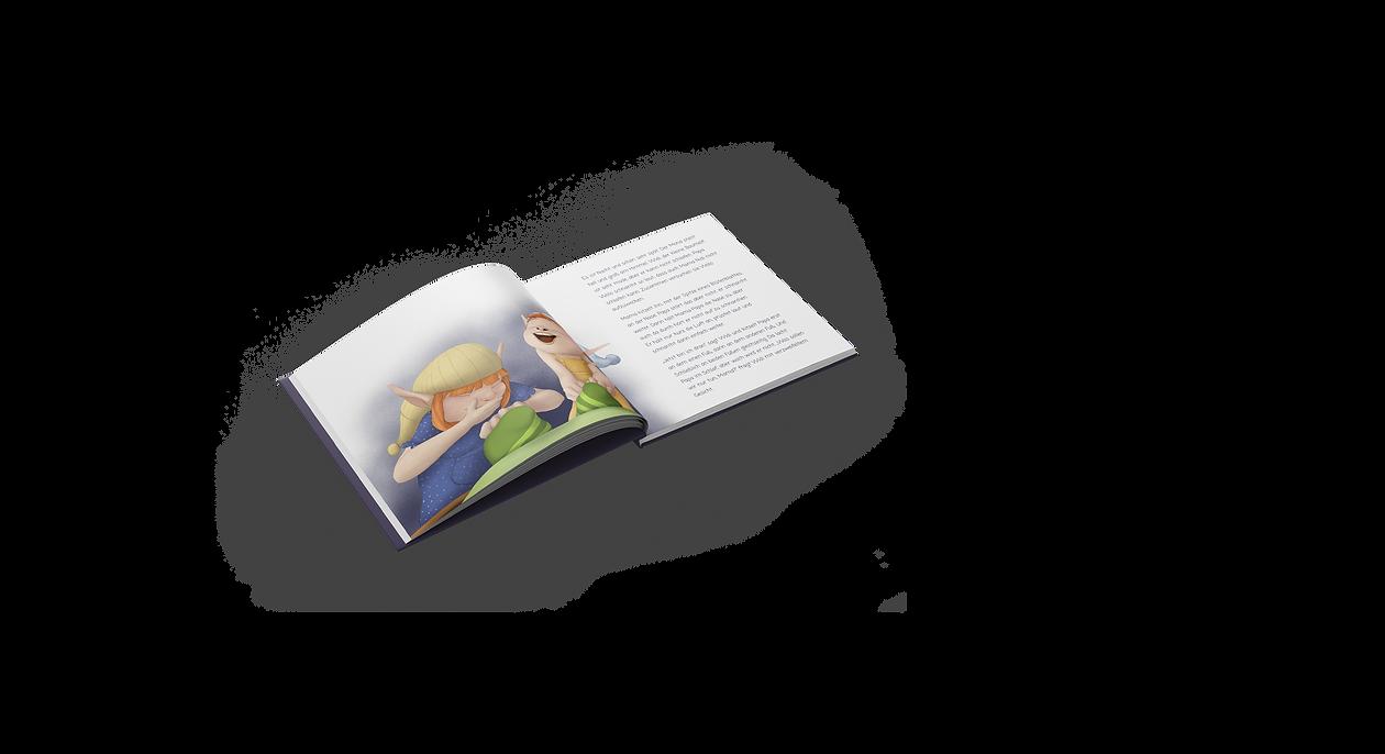Widi, der kleine Waldelf - Book illustration