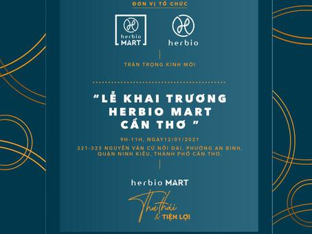 TƯNG BỪNG KHAI TRƯƠNG HERBIO MART TẠI CẦN THƠ