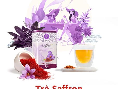 """Trà Saffron – """"Vàng Đỏ"""" Iran."""