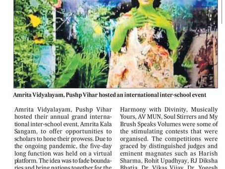 Cultural Fiesta By Amrita Vidyalayam, Pushp Vihar