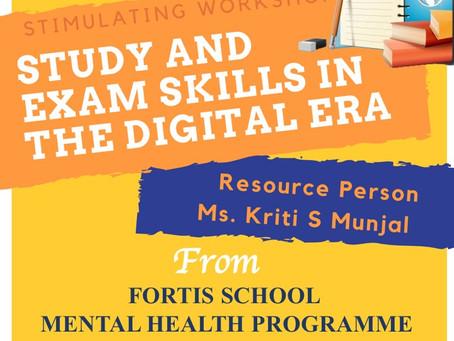 Workshop: 'Study and Exam Skills in the Digital Era'