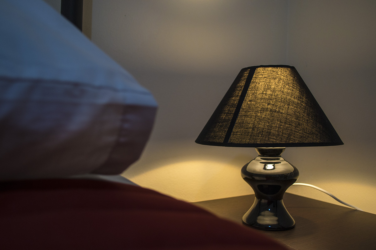 One Bedroom Apartment Nightstand
