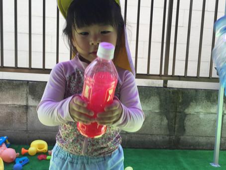 ぴちゃぴちゃ水遊び♪♪