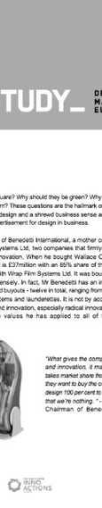 CASE STUDY: BENEDETTI INTERNATIONAL
