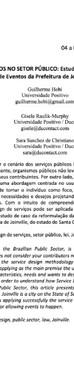 DESIGN DE SERVIÇOS NO SETOR PÚBLICO: ESTUDO DE CASO