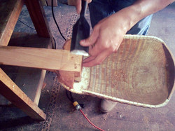 Using chisel on Ronroco