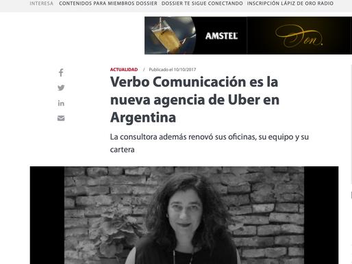 Verbo Comunicación es la nueva agencia de Uber en Argentina