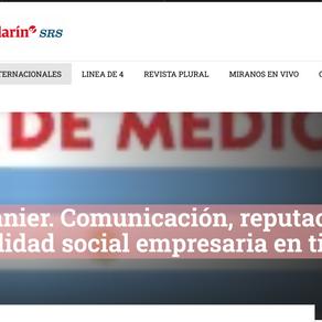 Mariela Ivanier. Comunicación, reputación y responsabilidad social empresaria en tiempos de pandemia