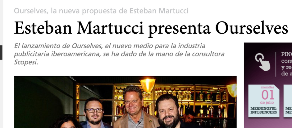 Esteban Martucci presenta Ourselves