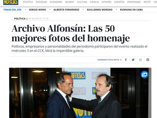 Archivo Alfonsín: Las 50 mejores fotos del homenaje