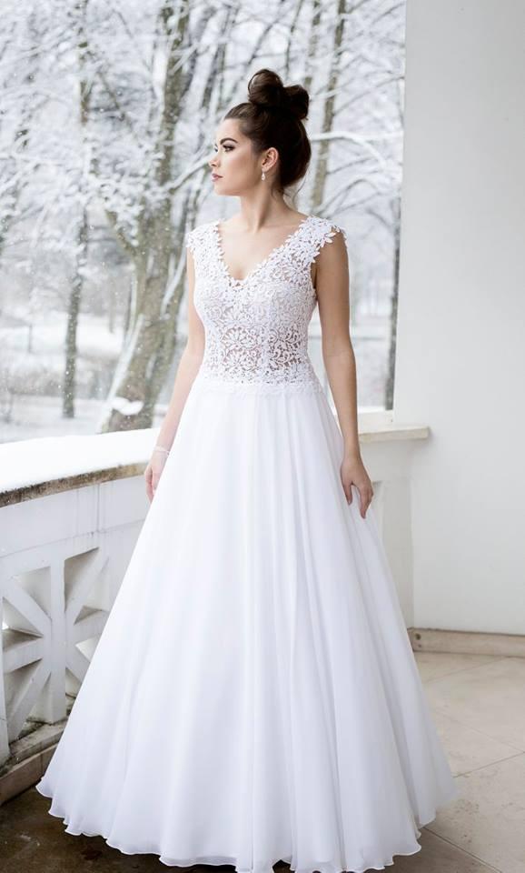 Suknia ślubne ADORA kolekcja BASILE model B22
