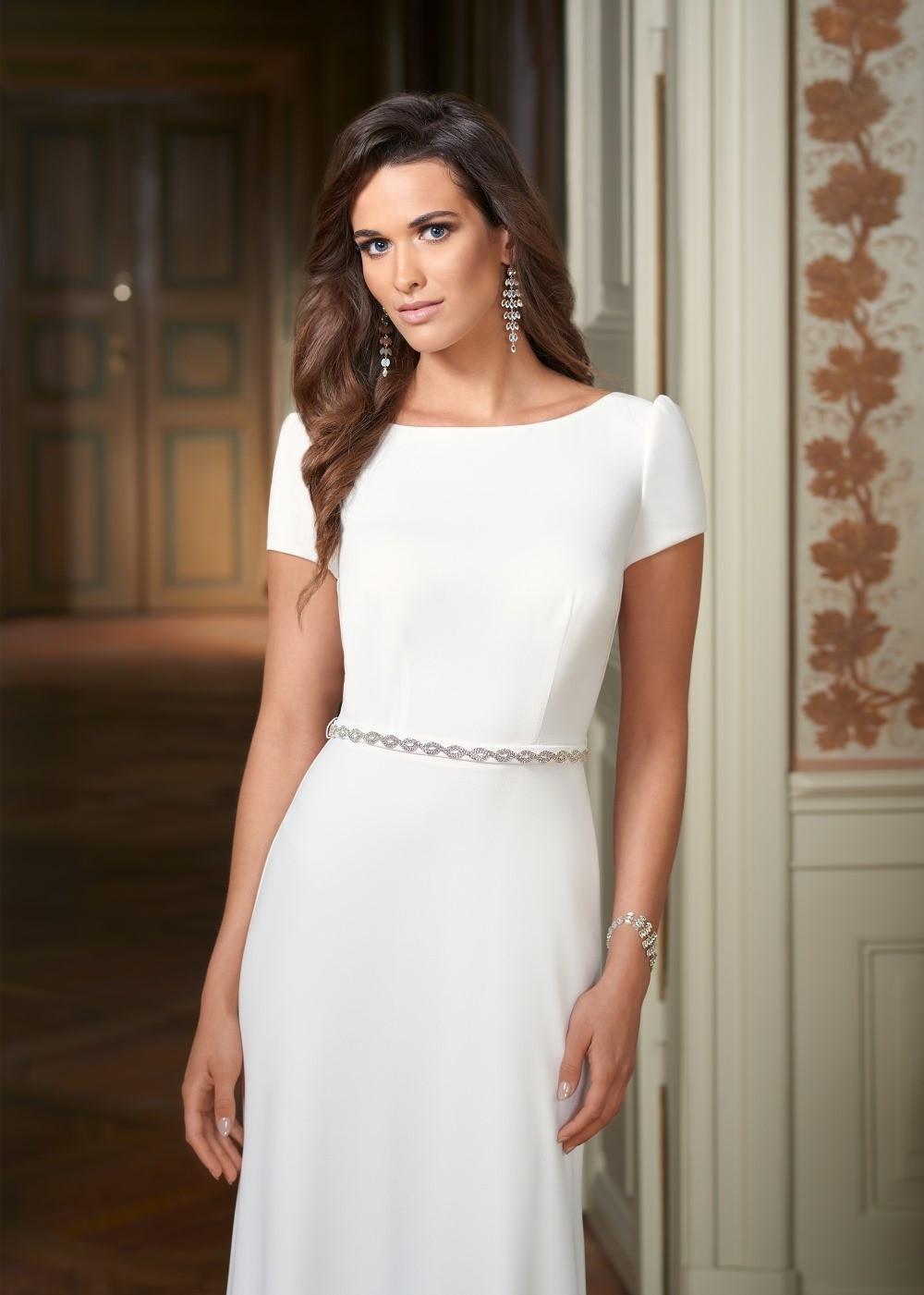 Suknia ślubna Margarett - COLLEZIONE CRISTALLO Clotylda