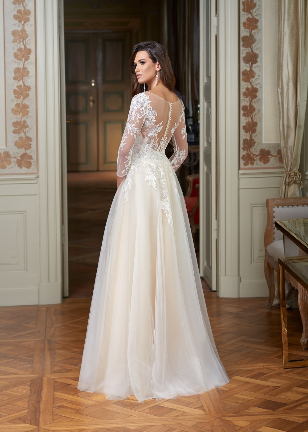 Suknia ślubna Margarett - COLLEZIONE CRISTALLO Cleopatra